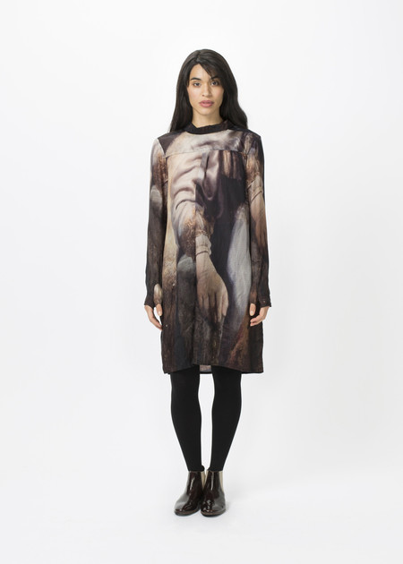 Rundholz Rembrandt Button Up Dress