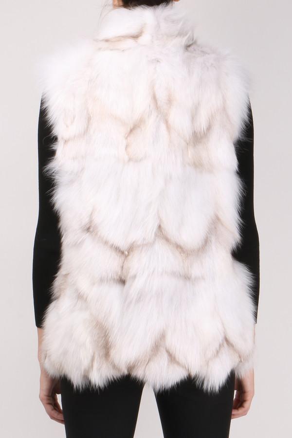 Jocelyn Fur Blue Fox Sections Vest