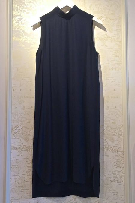 Jenni Kayne Mock Neck 'Matt' Silk Dress