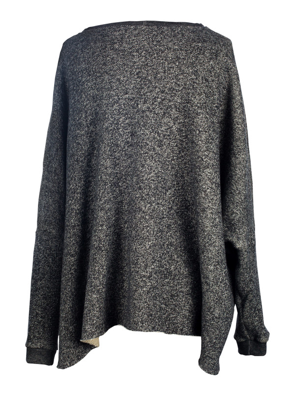 Devlyn Van Loon Curve Sweater - Charcoal Melange