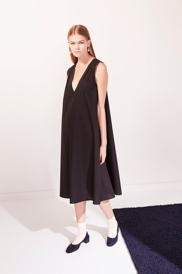 Kowtow REVERSIBLE DRESS - BLACK