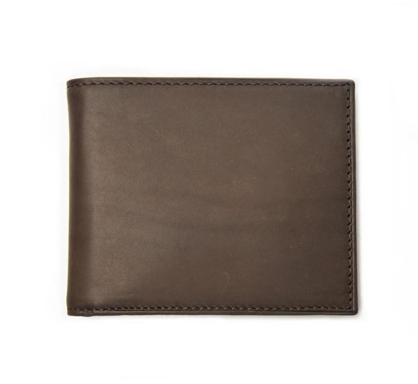 Dark Brown Billfold Wallet by Mismo