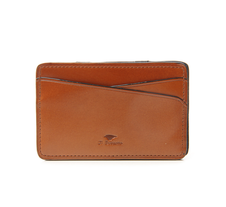 Il Bussetto Light Brown Magic Credit Card Case