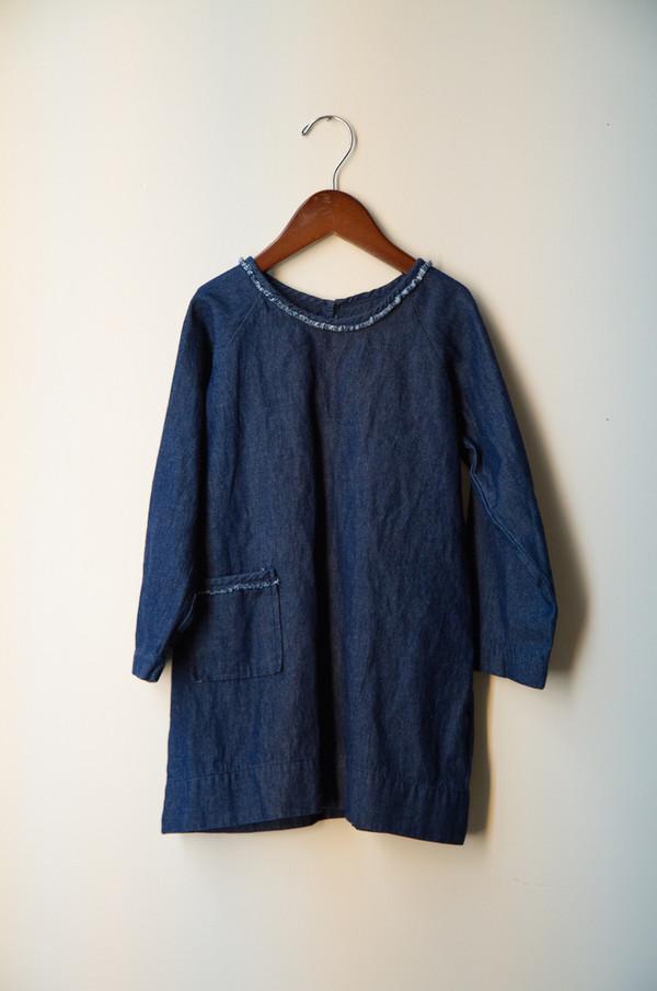 Kid's Boy+Girl Raglan Dress