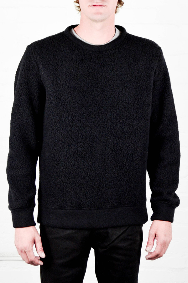 Men's Odin Textured Rune Wool Sweatshirt