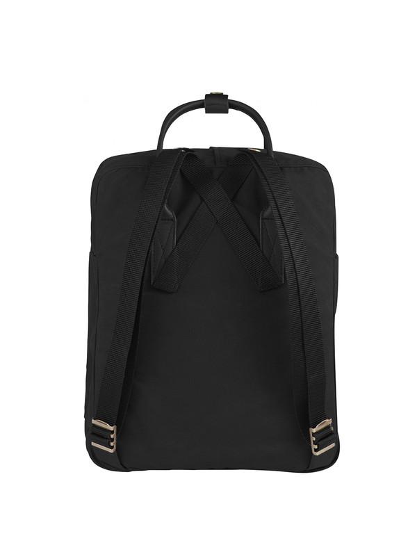 """Fjallraven 15"""" Laptop Kanken No. 2 Backpack Black Black"""
