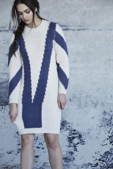 Callahan Chevron Dress