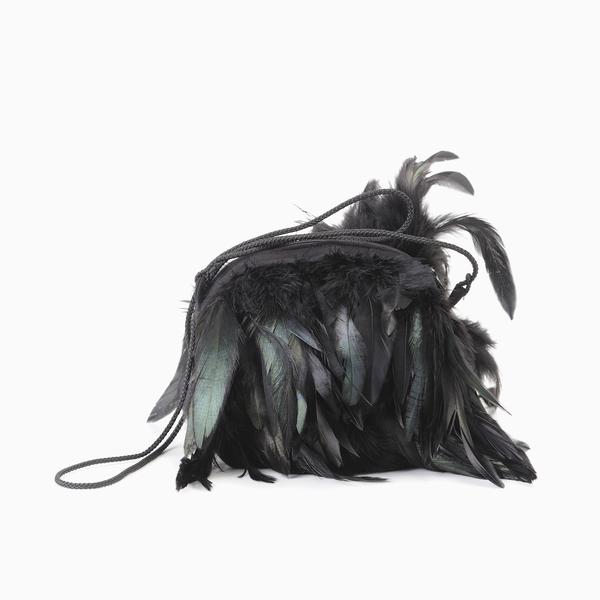 Andorine Feather Satchel