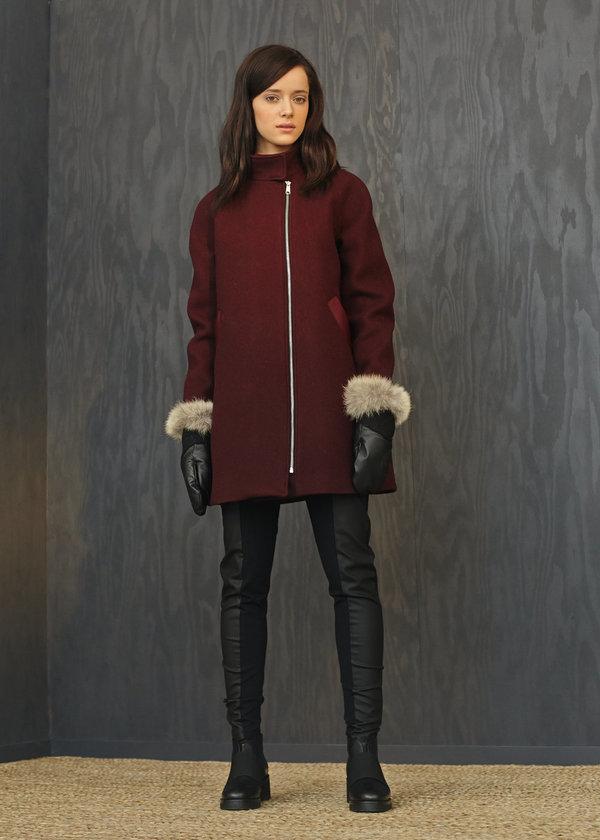 Marigold 'Rachel' coat