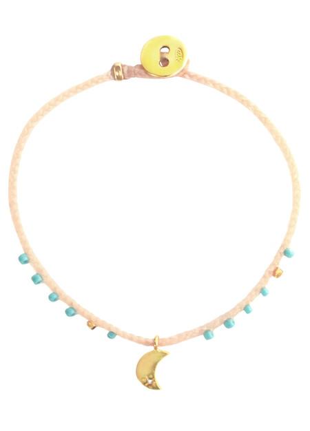 Scosha Easygoing moon charm bracelet