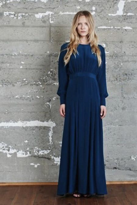 Kamperett Harper Keyhole Dress - Teal