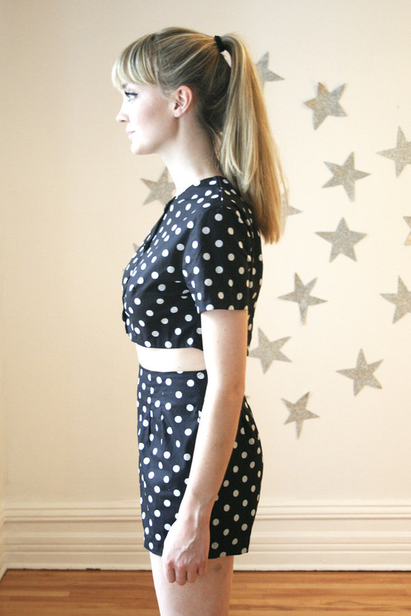 ROSEHOUND POLKA DOT TWO-PIECE