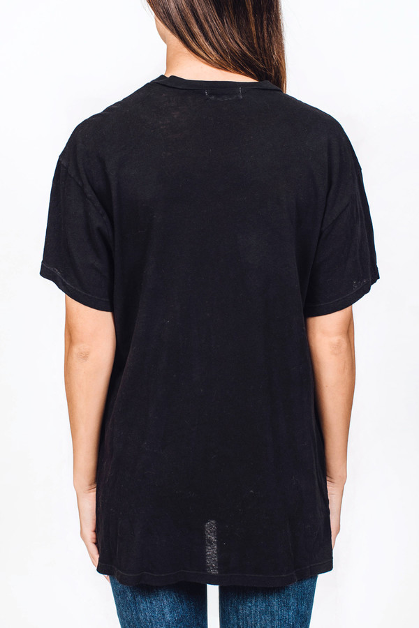 Lacausa Vintage Tall T Black