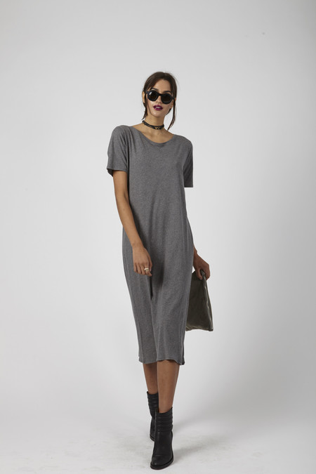 Kowtow Building Block Tee Shirt Dress - Merle