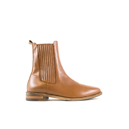 Freda Salvador Strong Tall Chelsea Boot - Luggage