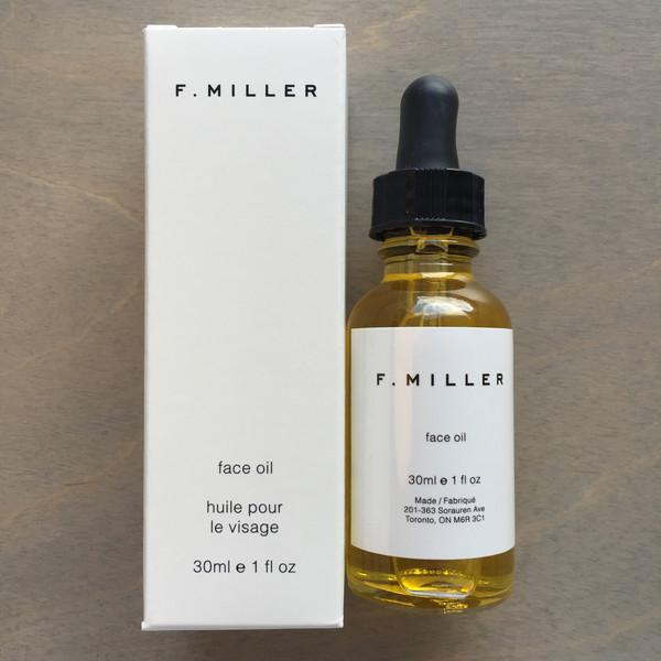 F Miller Face Oil