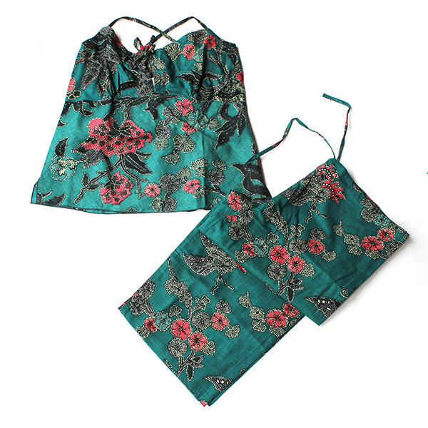 Utopic Batik Lounge Set Green