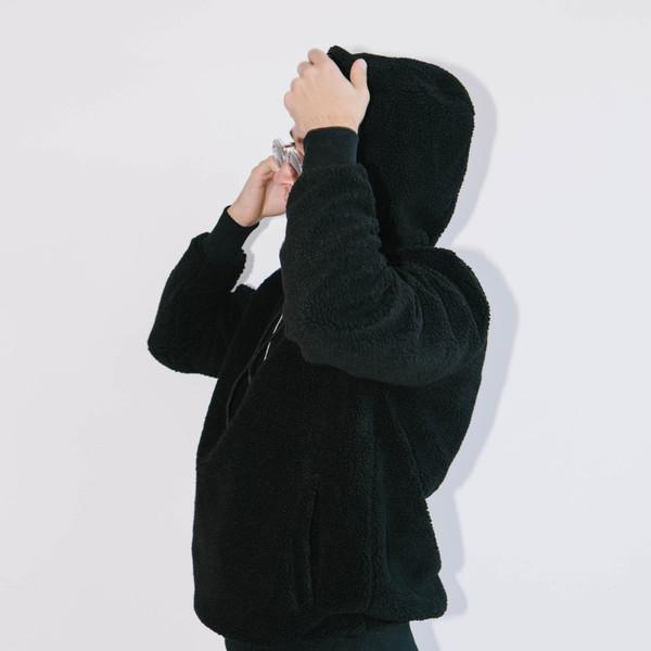 Han Kjobenhavn Half Zip Hoodie