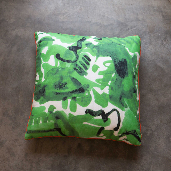 "Electra Eggleston HAVANA VERDE 22"" PILLOW"