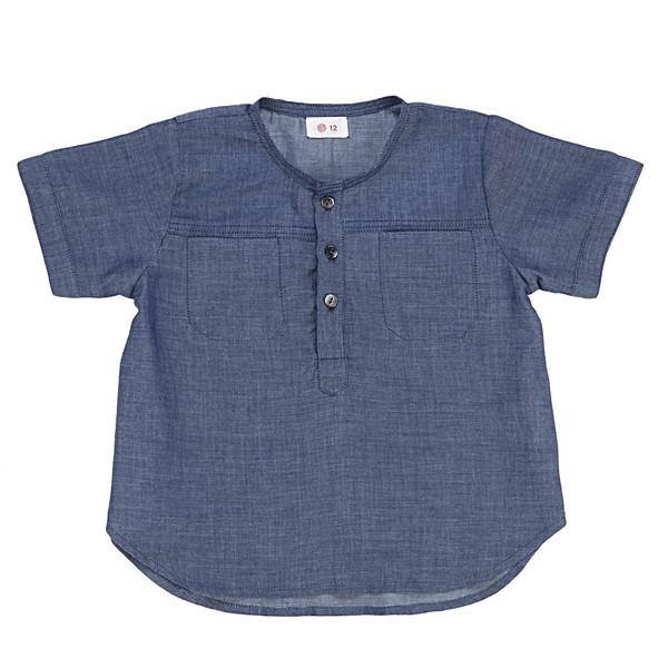 Ketiketa Eole Shirt Indigo