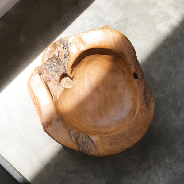 WILDERlife Teak Wood Bowl