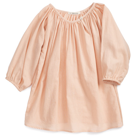 Kid's Soor Ploom Peasant Tunic Clay