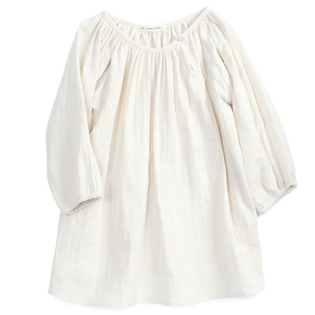 Kids Soor Ploom Peasant Tunic Natural