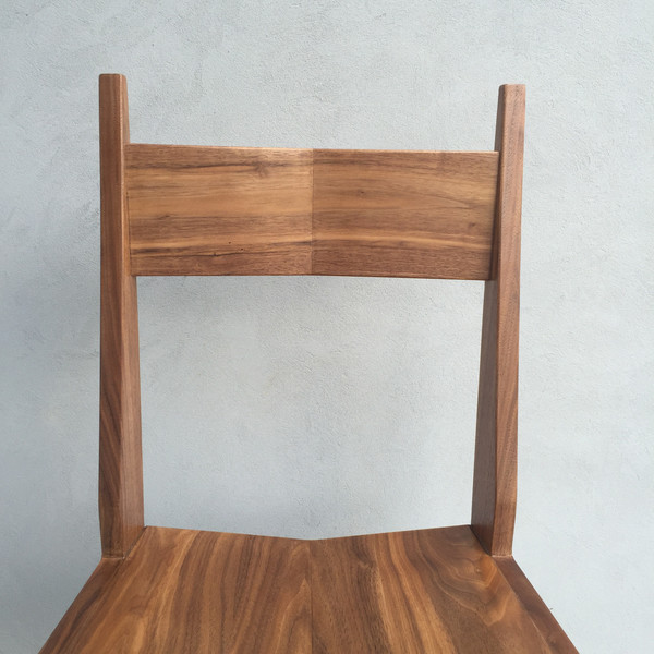 BEAR IT NO MORE Walnut Dining Chair