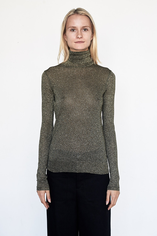 D.EFECT Viscose Becca Turtleneck
