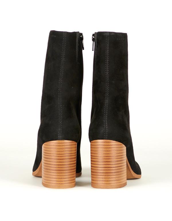 Vagabond Kaley Suede Boot Black