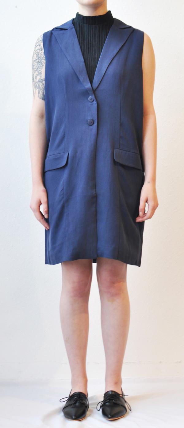 "Just Female ""Jaru"" Long Oversized Vest Dress"