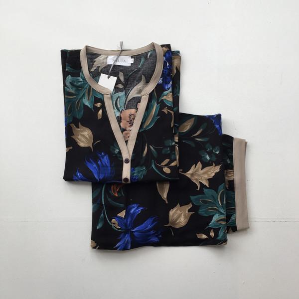 Salua Lingerie Rayon Printed Pajamas