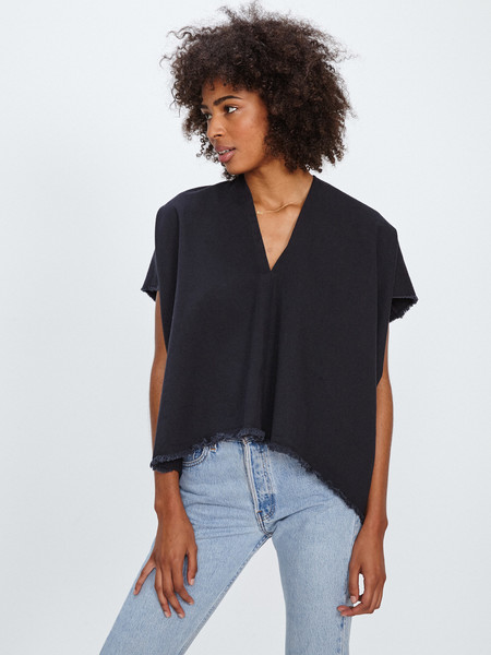 Miranda Bennett EVERYDAY TOP / BLACK DENIM
