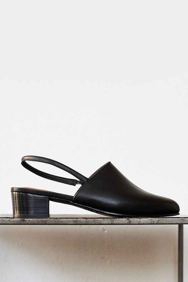 Anne Thomas Leather Williamsburg Heel