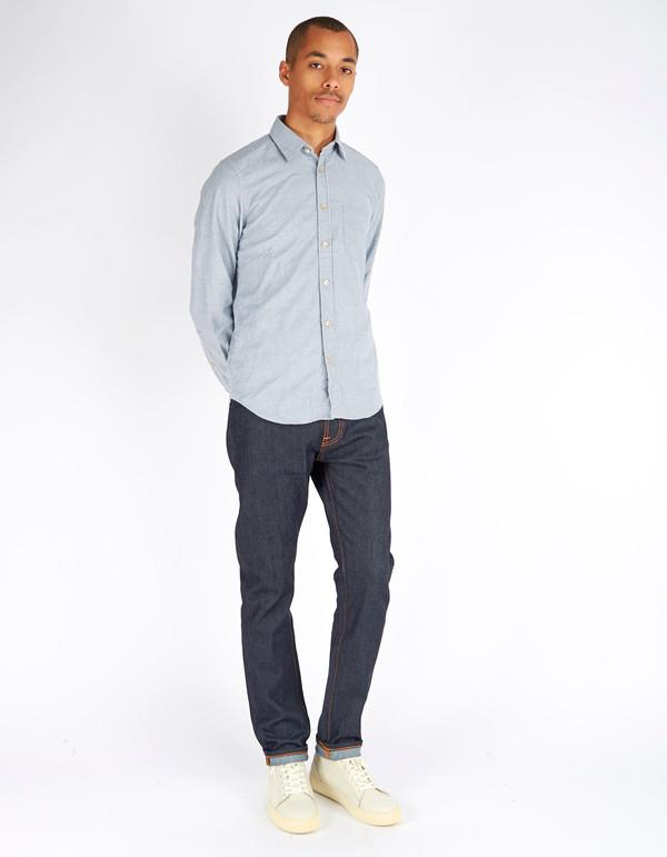 Portuguese Flannel Acacia Shirt Stripe