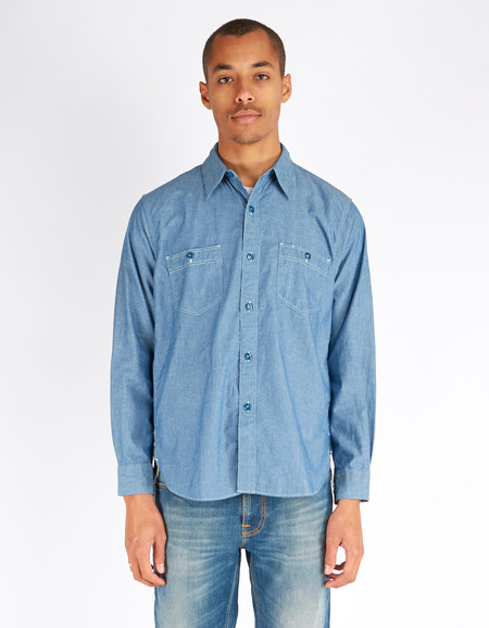 Shuttle notes Deck Shirt Chambray