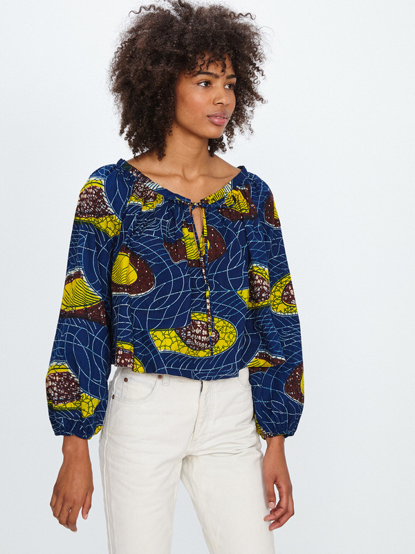 Royal Native OLIVIA TOP / HOLY GUACAMOLE