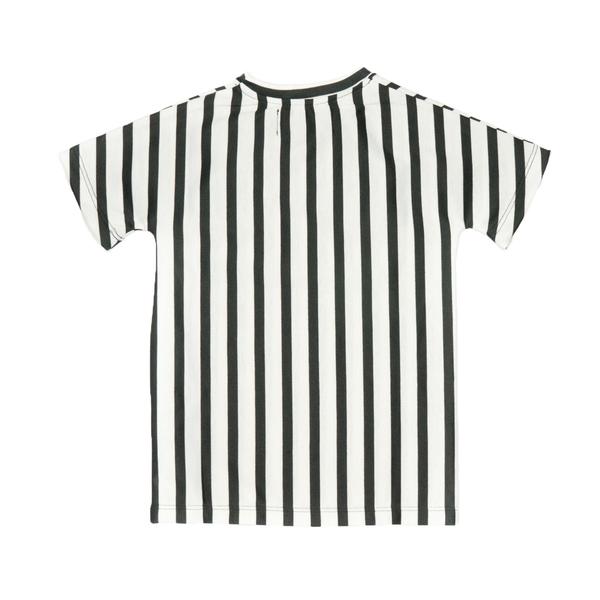 même MIMI Striped Kimono Shirt