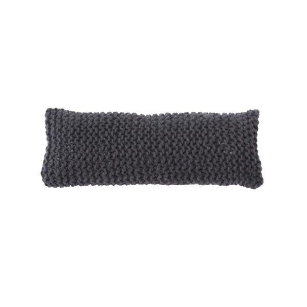 Zilalila Anthracite Fine Wooly Pillow - Dodo Les Bobos