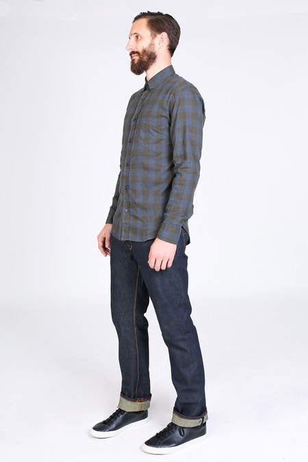 Men's Raleigh Denim Workshop Jones in Original Selvedge Raw