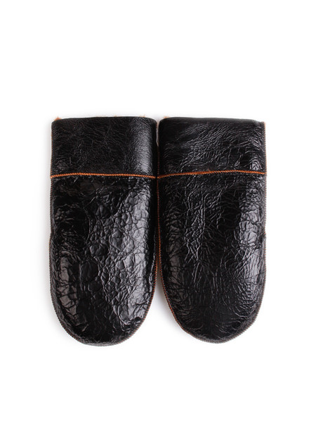 Men's Our Legacy Shearling Gloves Spiderwebb