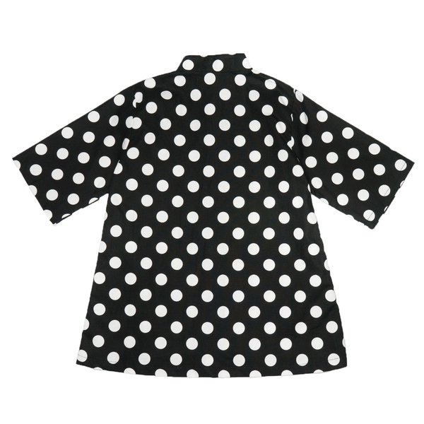 même RIVER Button-Up Shirt in Polka Dots