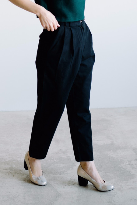 Wray Fielding Pant // Black