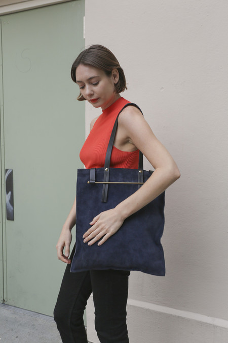 Lizzy Disney Music Tote in Navy