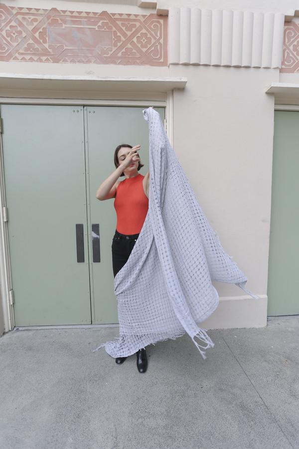 Mexchic Wabi-Sabi Blanket in Grey