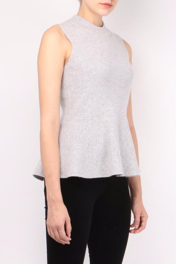 Veronica Beard Billie Peplum Sweater
