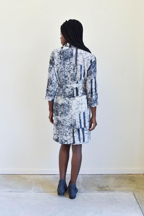 Osei-Duro Osei Duro Corium Dress in Broken Barcode