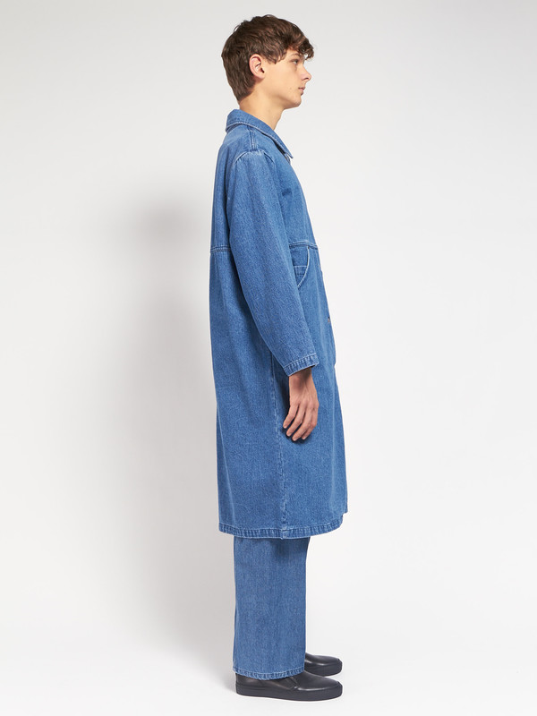 Men's 69 Simple Coat Blue
