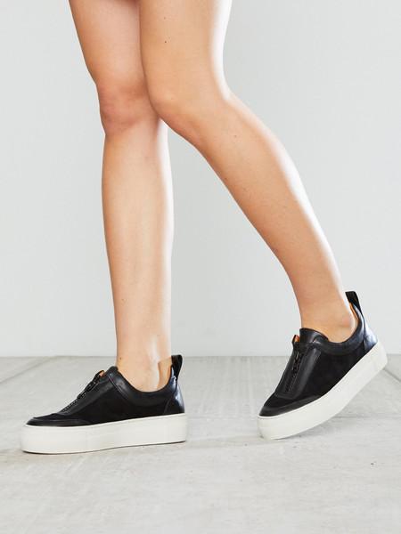 Ganni Poppy Brocade Sneakers