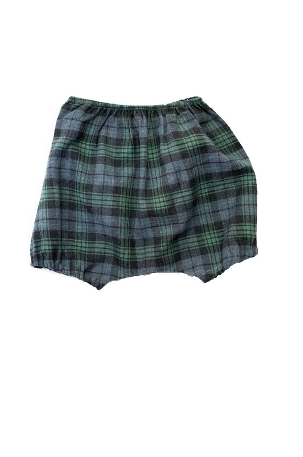 Boy+Girl Poppy Bloomer - Green/Charcoal